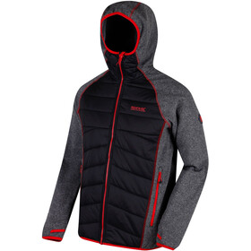 Regatta Andreson III Hybrid Softshell Jacket Men Black